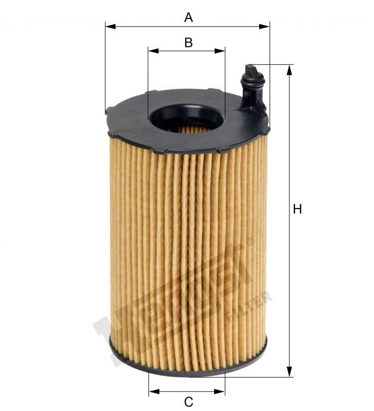 Ölfilter HENGST FILTER E816H D236