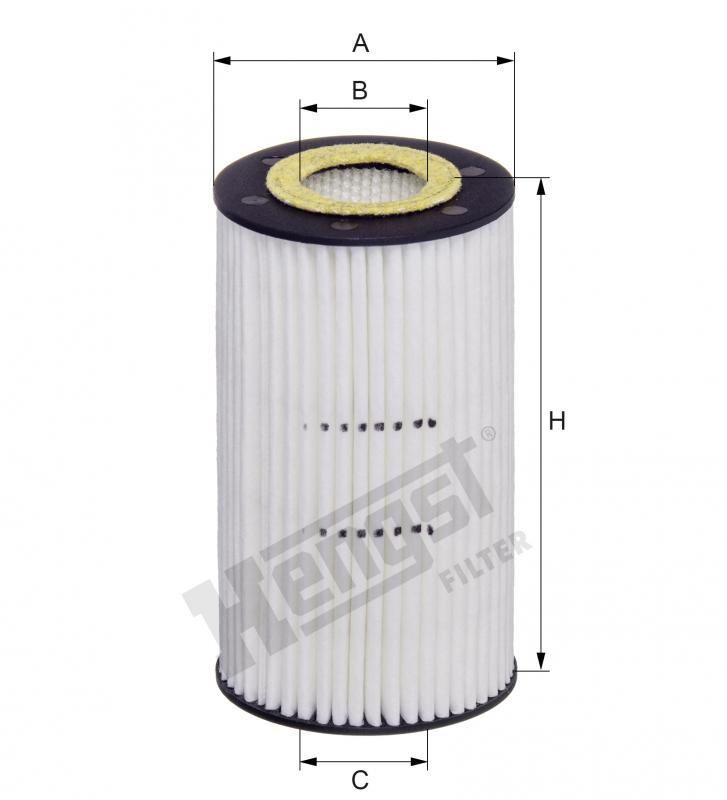 HENGST FILTER E1129L Engine Compartments