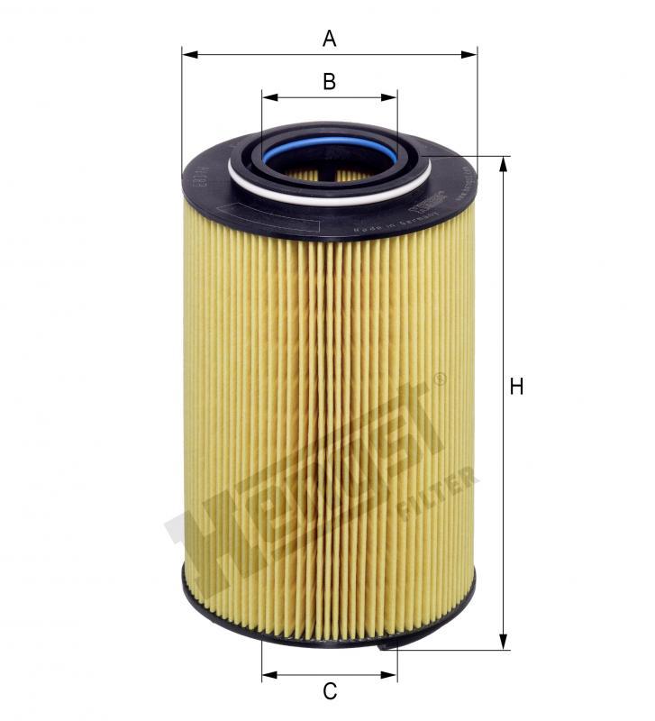 Kraftstofffilter HENGST FILTER E422KP D98