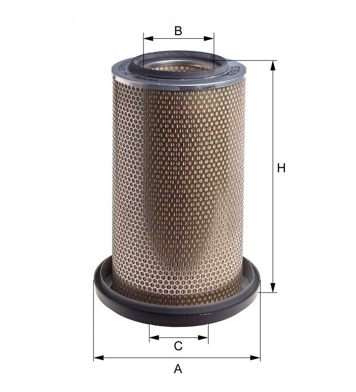 Luftfilter HENGST FILTER E114L
