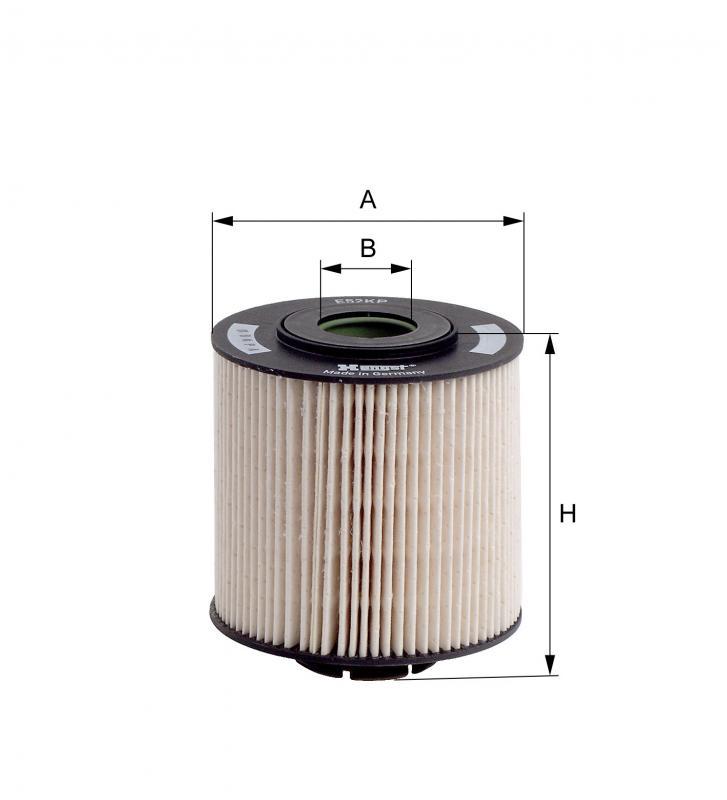 Kraftstofffilter HENGST FILTER E11S04 D132