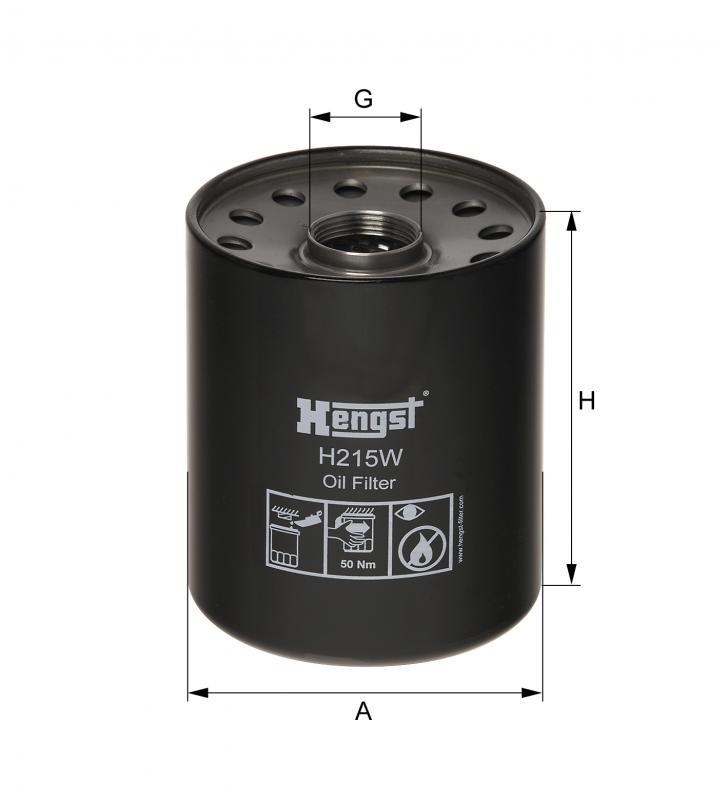 Kohler 223673 Oil Filter